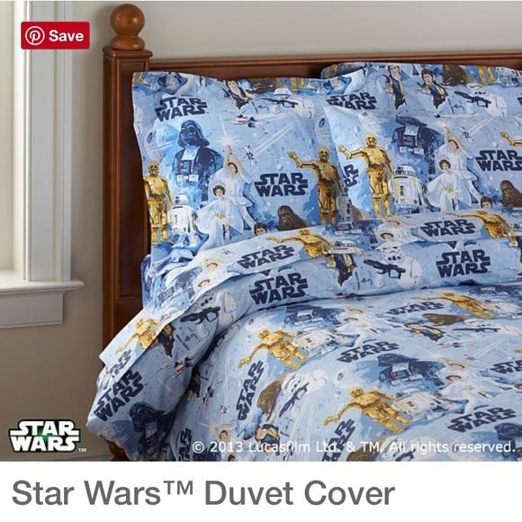 Pottery Barn Kids Star Wars The Light Side Full//Queen Duvet Cover